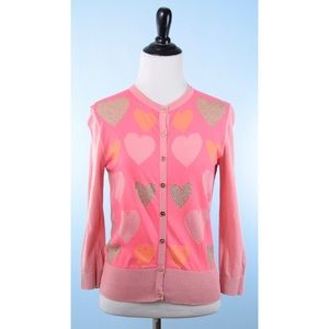 TED BAKER hearts cardigan